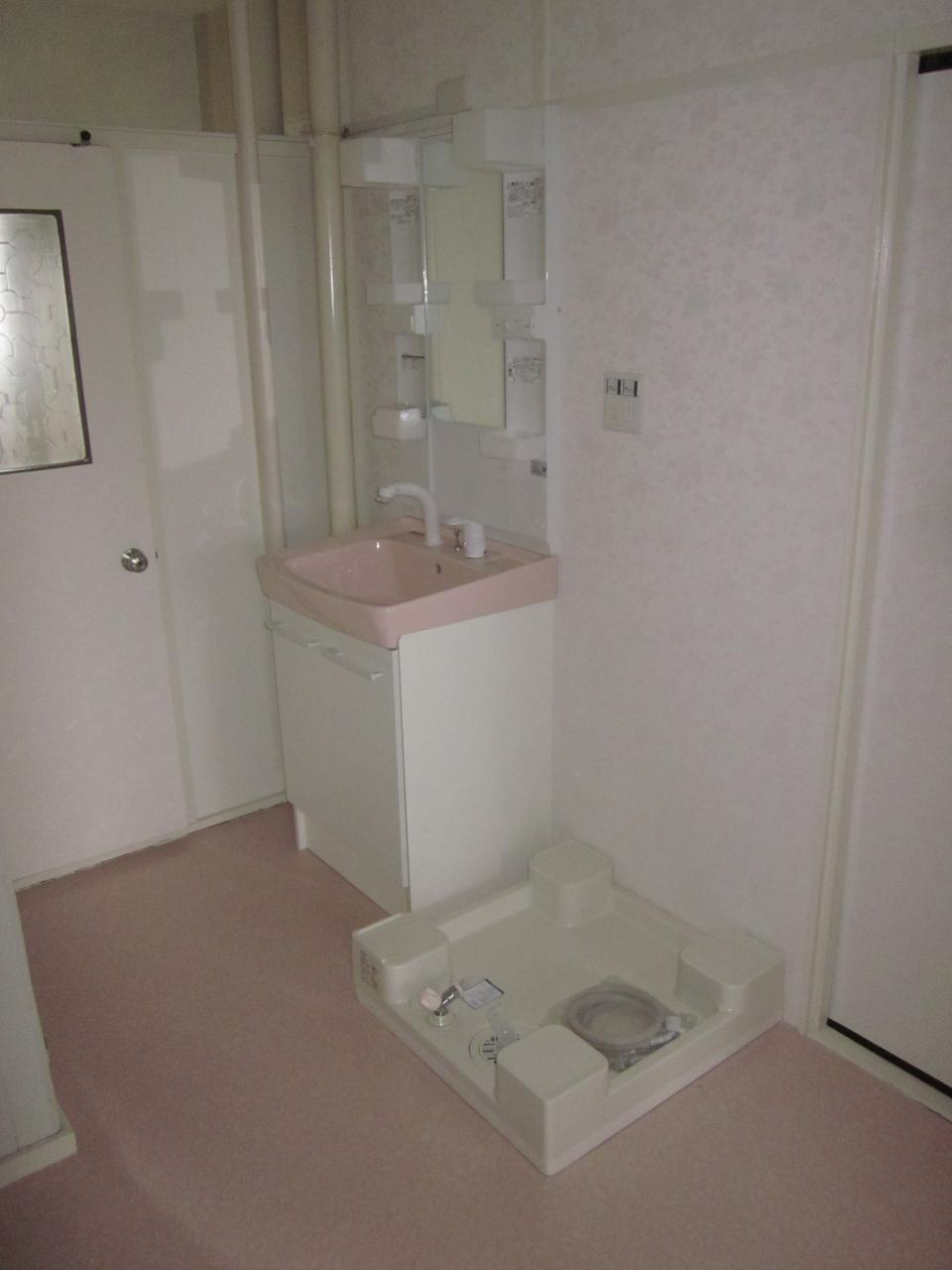 洗面化粧台+防水パンの王道セット